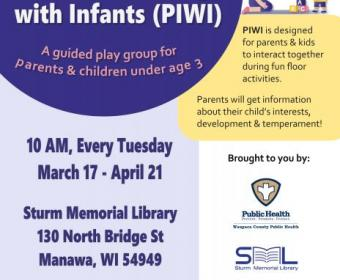 Flyer for PIWI Spring Session